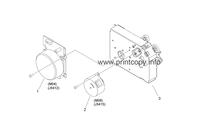 Parts Catalog > Canon > iR Advance C356iF II > page 22