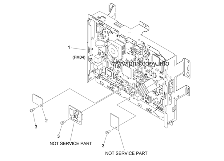 Parts Catalog > Canon > iR Advance C3325i > page 53
