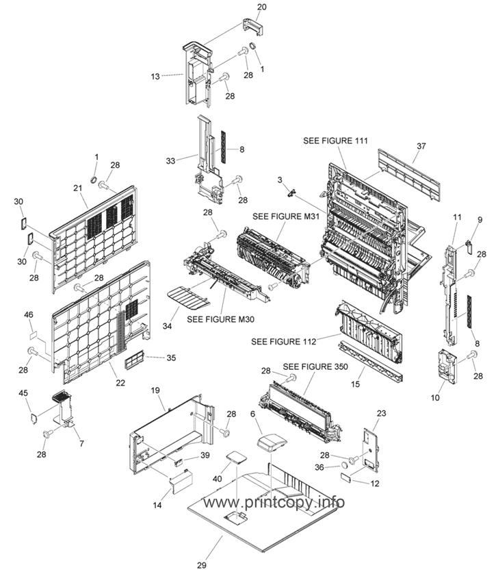 Parts Catalog > Canon > iR Advance C3520i > page 6