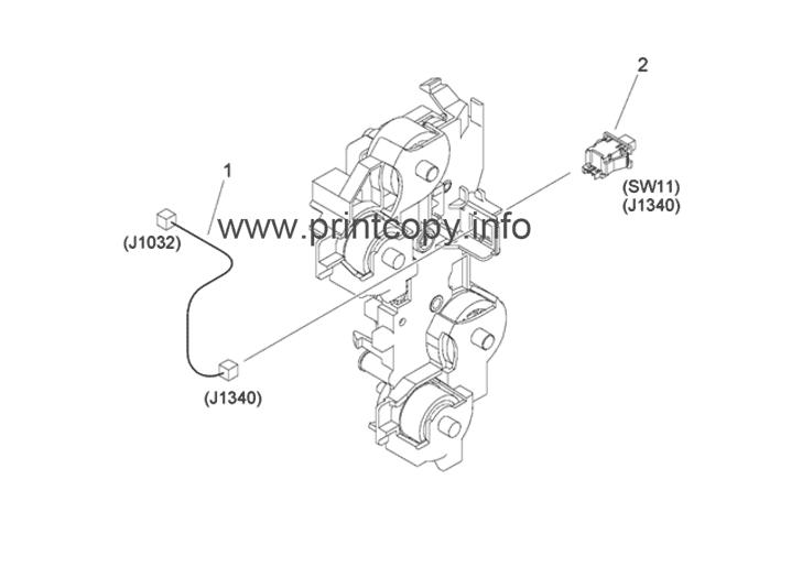 Parts Catalog > Canon > iR Advance C3525i > page 25