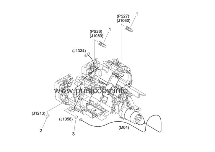 Parts Catalog > Canon > iR Advance C3525i > page 27