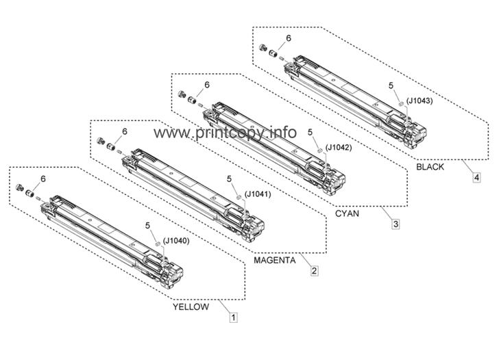 Parts Catalog > Canon > iR Advance C3525i > page 40