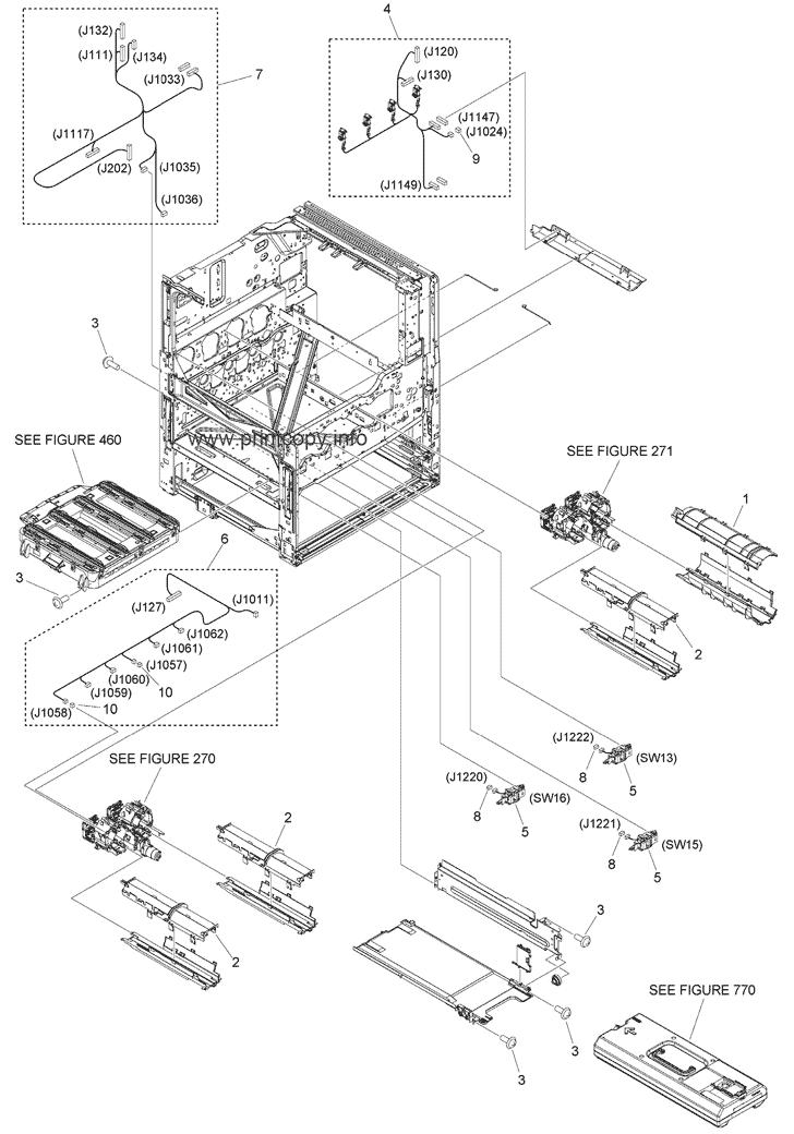 Parts Catalog > Canon > iR Advance C3525i III > page 7