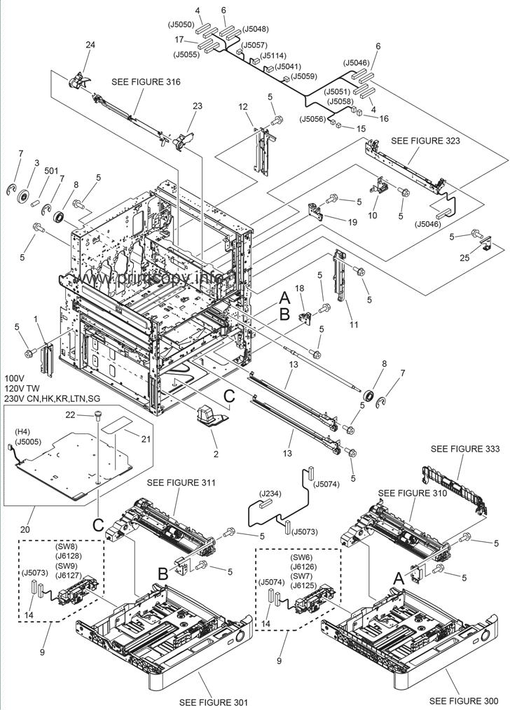 Parts Catalog > Canon > iR Advance C5045 > page 7