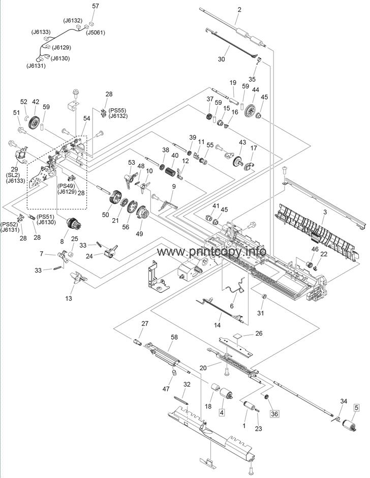 Parts Catalog > Canon > iR Advance C5030 > page 21