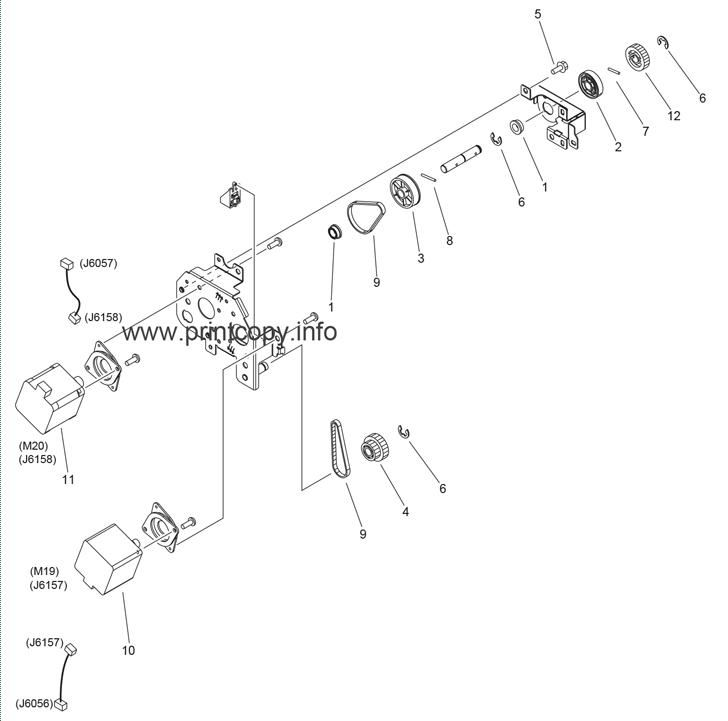 Parts Catalog > Canon > iR Advance C5045 > page 28