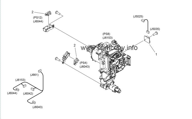 Parts Catalog > Canon > iR Advance C5045 > page 43