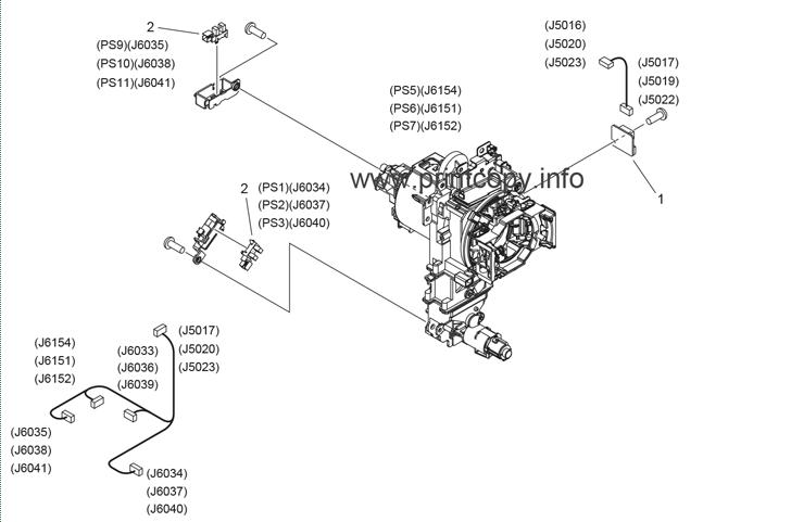 Parts Catalog > Canon > iR Advance C5045 > page 44