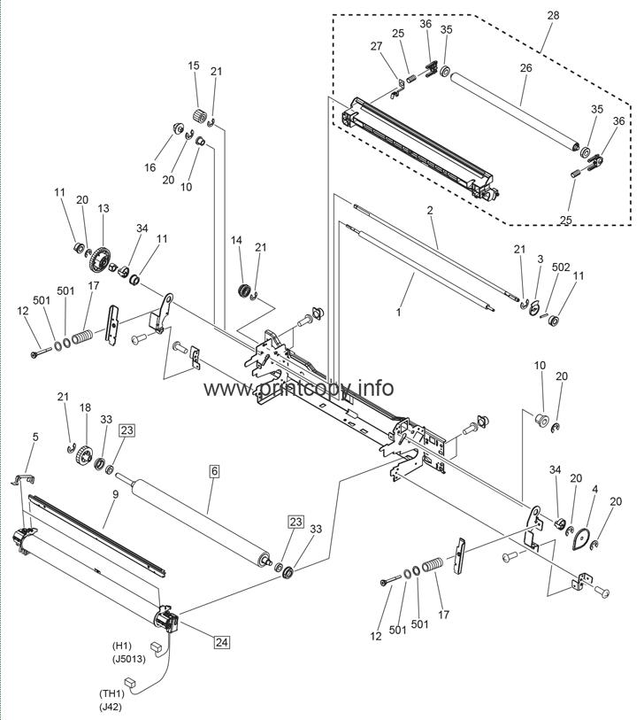 Parts Catalog > Canon > iR Advance C5030F > page 52