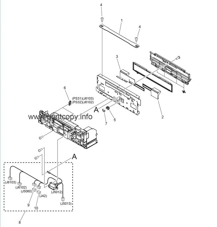 Parts Catalog > Canon > iR Advance C5051 > page 54