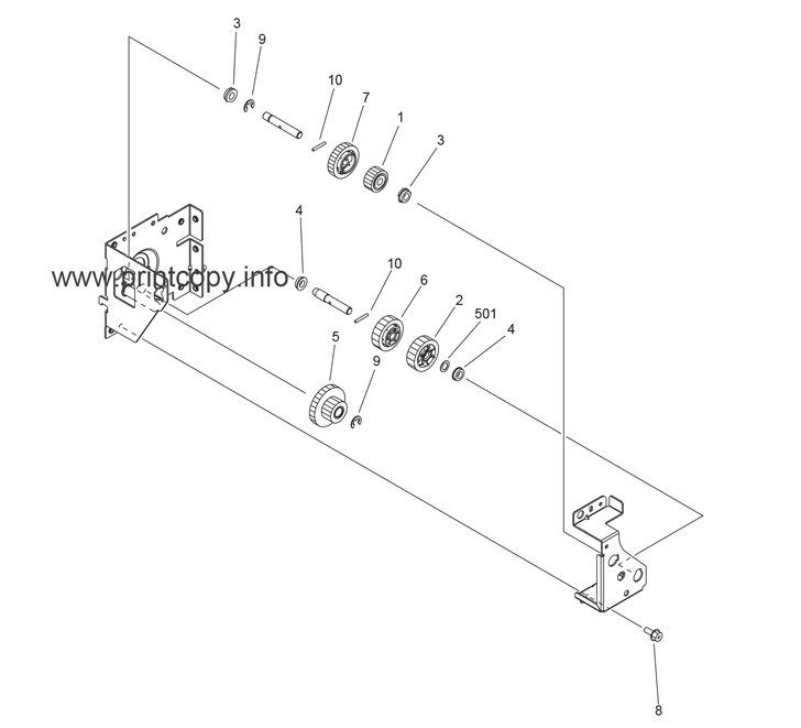 Parts Catalog > Canon > iR Advance C5045 > page 56