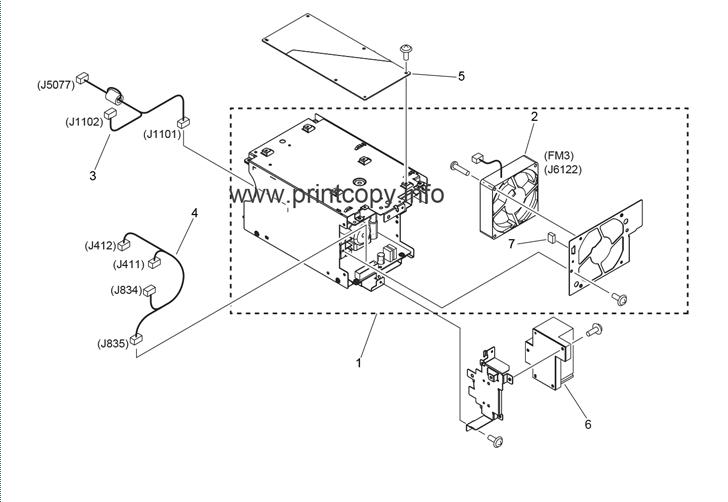 Parts Catalog > Canon > iR Advance C5045 > page 60