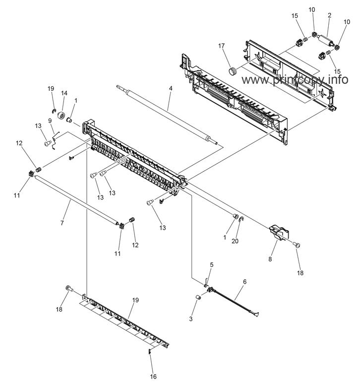 Parts Catalog > Canon > iR Advance C5235 > page 55