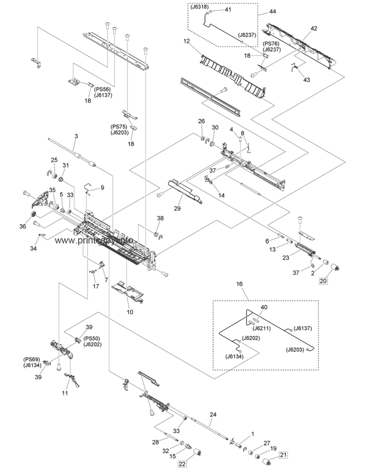Parts Catalog > Canon > iR Advance C5535i > page 49