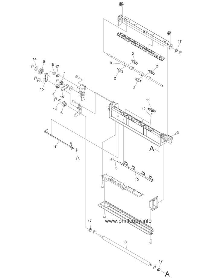 Parts Catalog > Canon > iR Advance C5535i > page 55