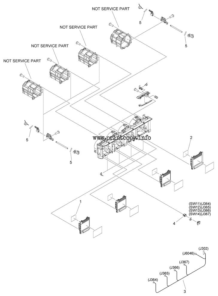 Parts Catalog > Canon > iR Advance C5535i III > page 69