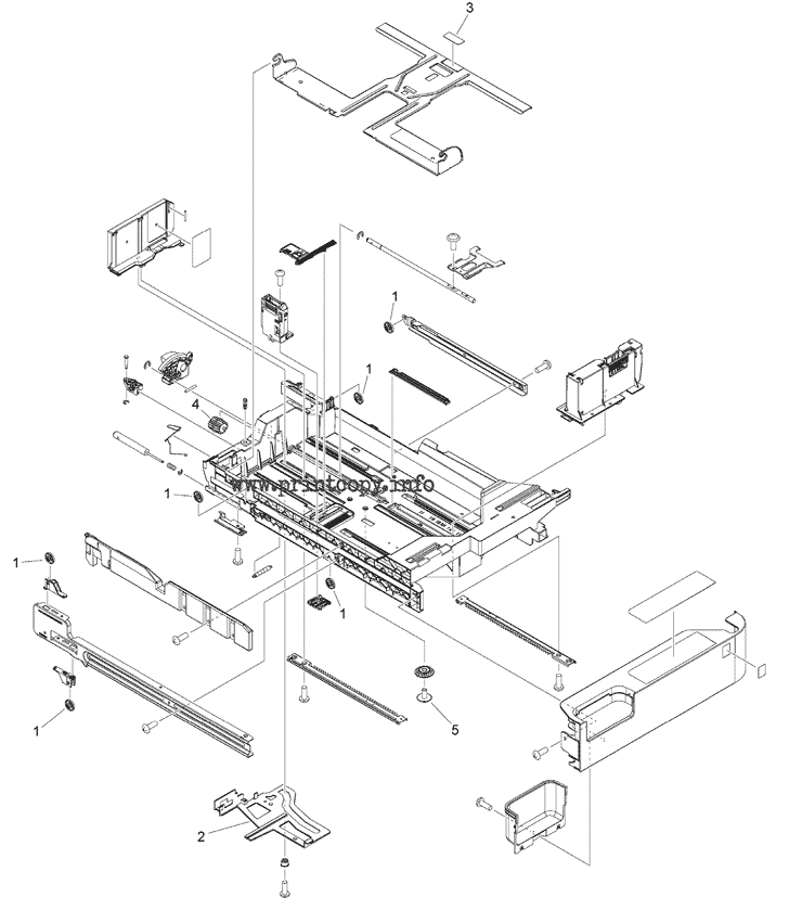 Parts Catalog > Canon > iR Advance C5535i III > page 103