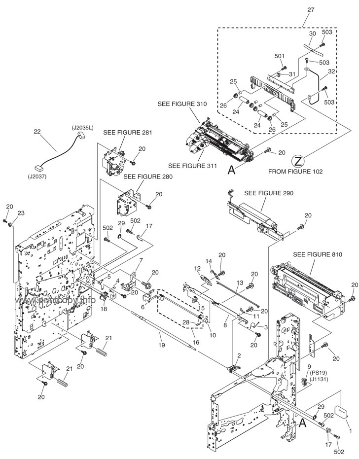 Parts Catalog > Canon > iRC2380i > page 5