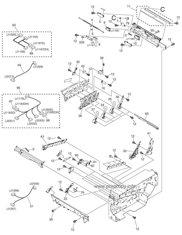 Parts Catalog > Canon > iRC2380i > page 39