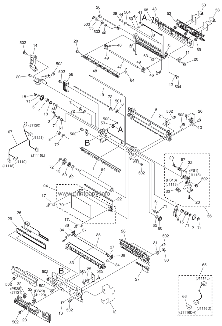 Parts Catalog > Canon > iRC2380i > page 44