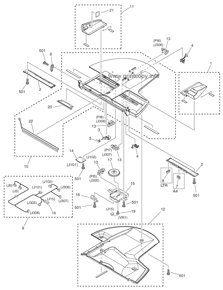 Parts Catalog > Canon > iRC3580 > page 63