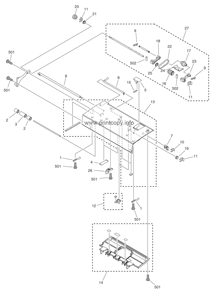 Parts Catalog > Canon > iRC3580 > page 64