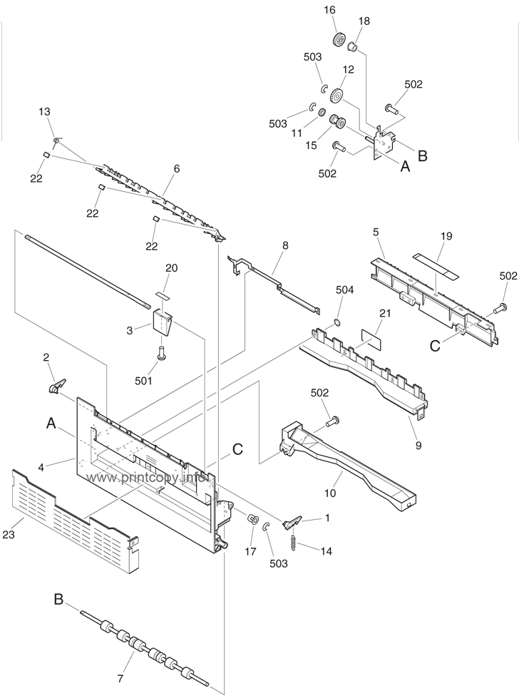 Parts Catalog > Canon > CLC3200 > page 33