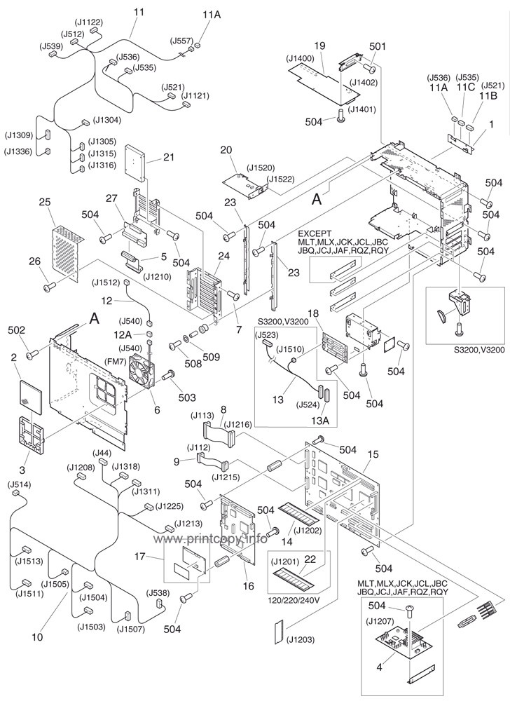Parts Catalog > Canon > iRC3200 > page 46