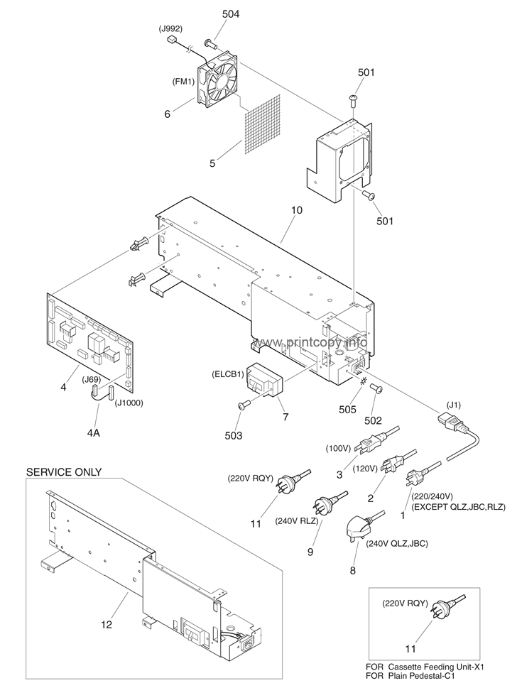 Parts Catalog > Canon > iRC3220G > page 47