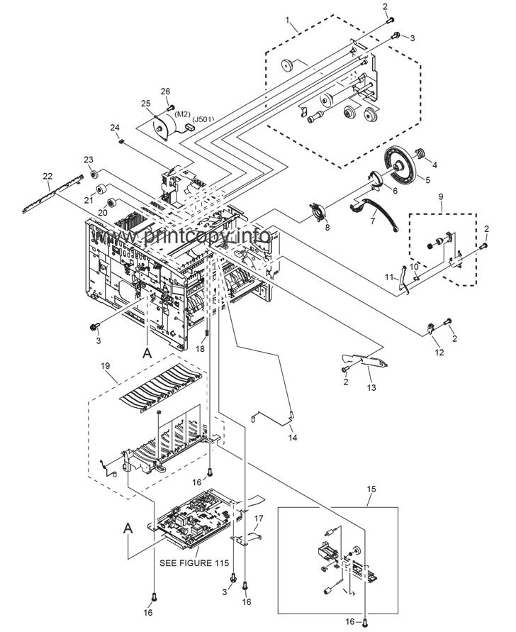 Parts Catalog > Canon > i-SENSYS LBP3460 > page 4