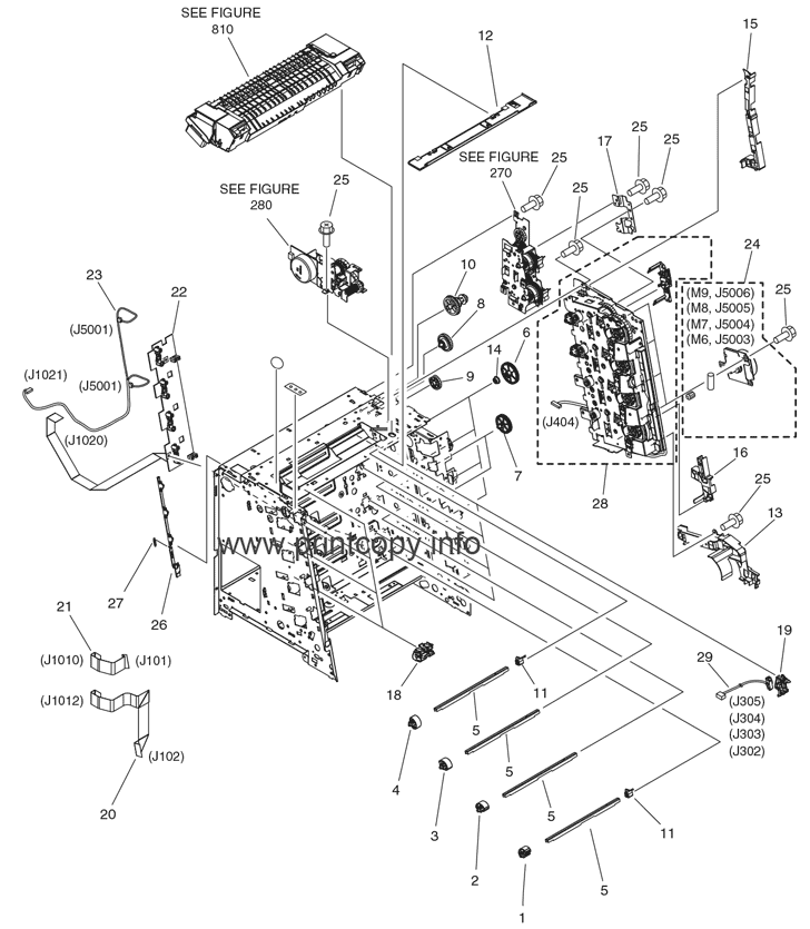 Parts Catalog > Canon > i-SENSYS LBP5300 > page 5