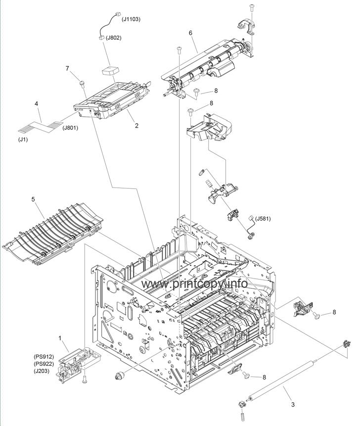 Parts Catalog > Canon > i-SENSYS LBP6670dn > page 4