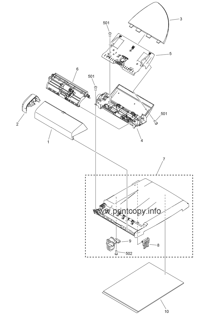 Parts Catalog > Canon > MF4318 > page 9