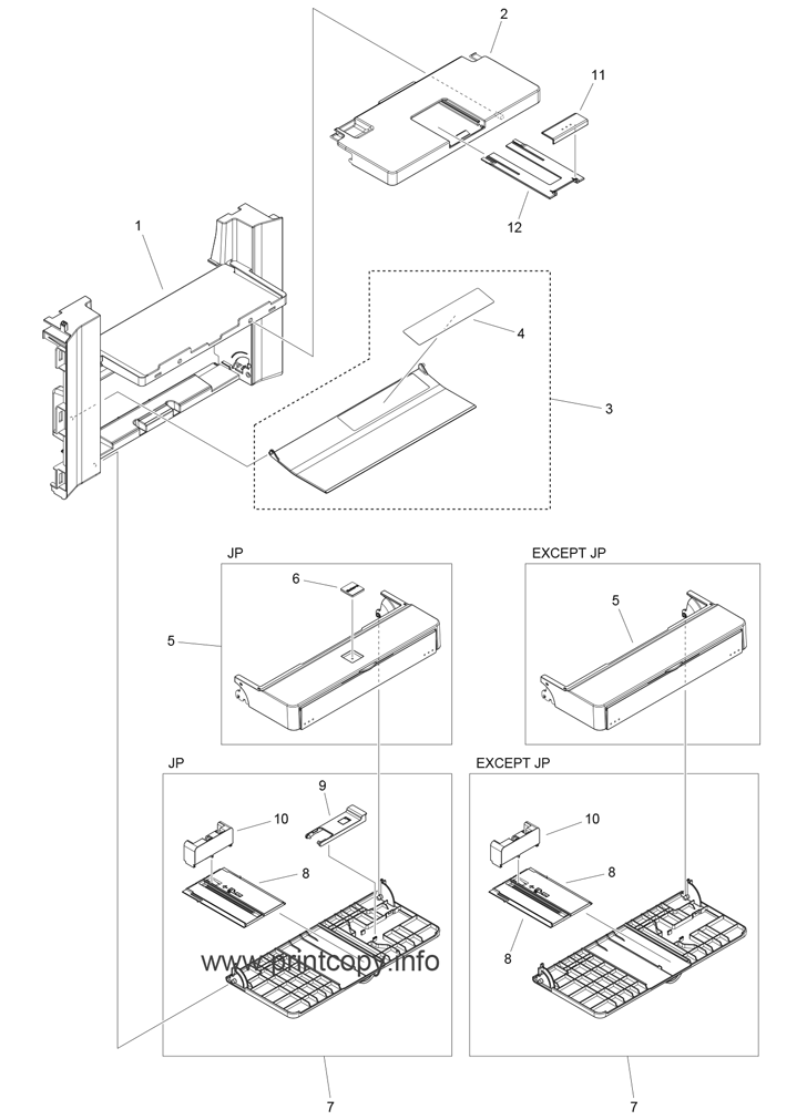 Parts Catalog > Canon > imageCLASS D550 > page 4