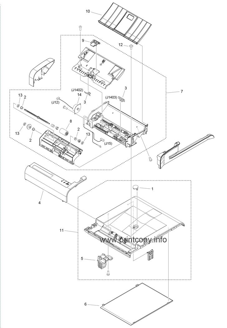 Parts Catalog > Canon > imageCLASS D550 > page 8