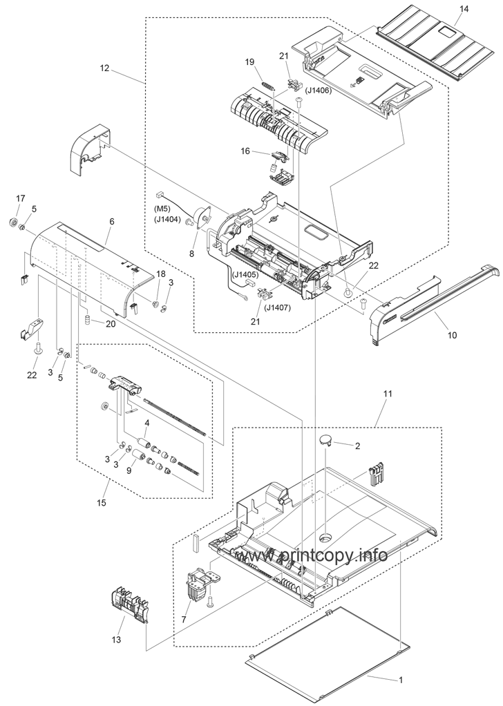 Parts Catalog > Canon > imageCLASS MF4770n > page 8