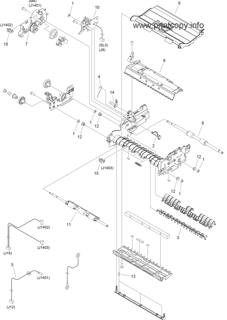 Parts Catalog > Canon > imageCLASS MF4750 > page 9
