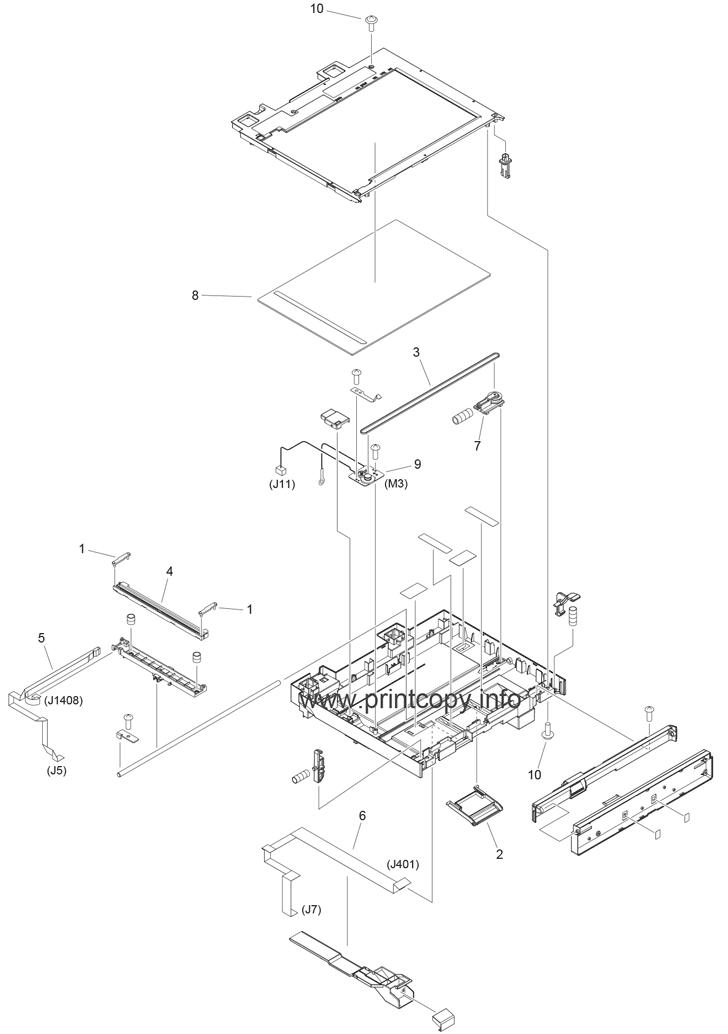 Parts Catalog > Canon > imageCLASS MF4890dw > page 10