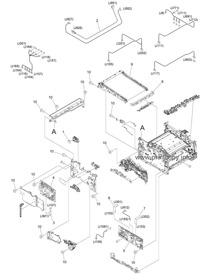 Parts Catalog > Canon > i-SENSYS MF635Cx > page 12