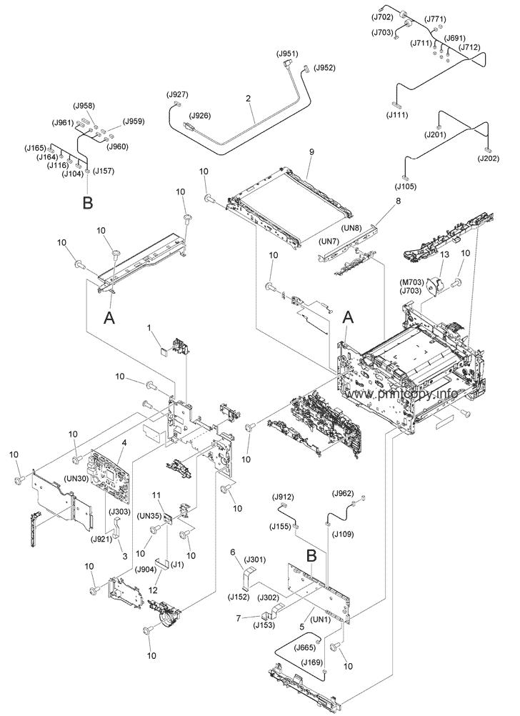 Parts Catalog > Canon > Color imageCLASS MF644Cdw > page 12