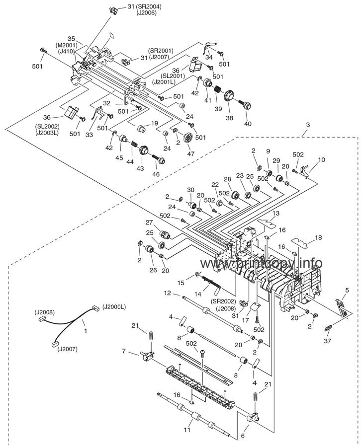 Parts Catalog > Canon > imageCLASS MF6530 > page 9