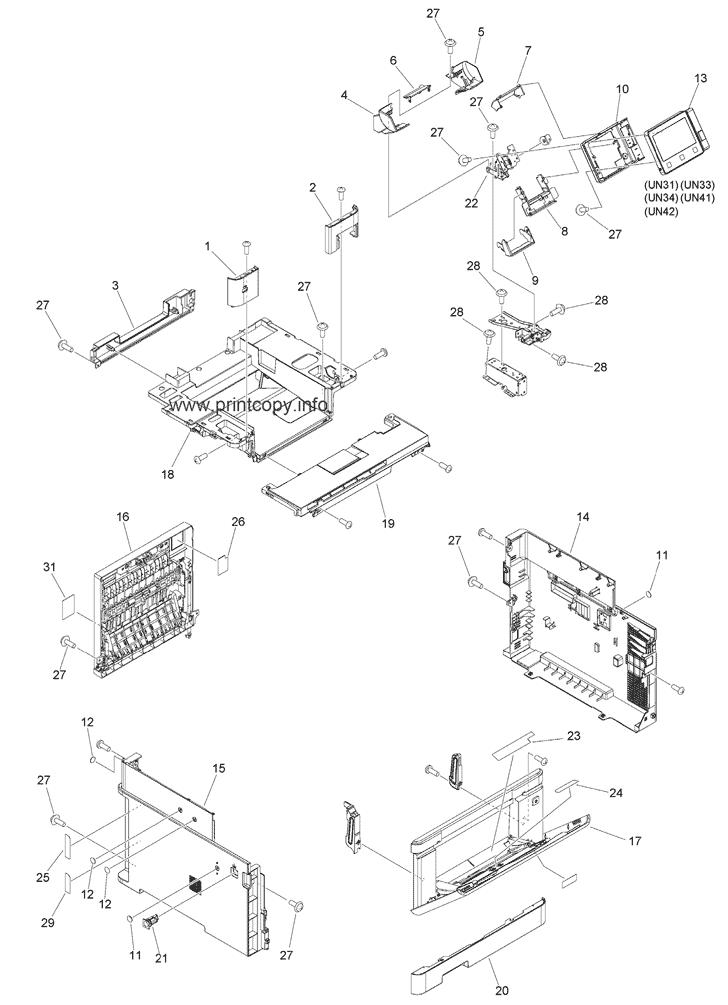 Parts Catalog > Canon > i-SENSYS MF746Cx > page 1