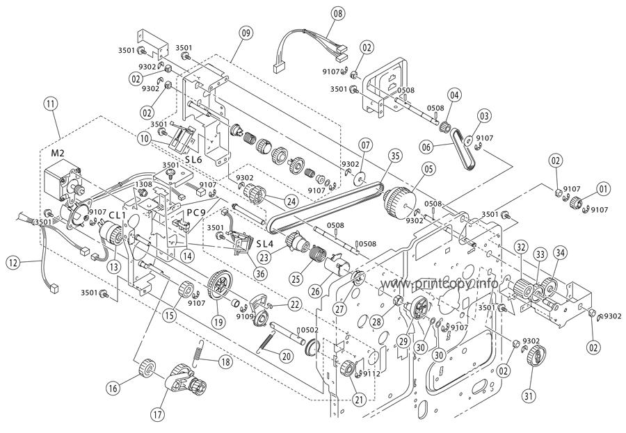 Parts Catalog > Epson > Aculaser C900 > page 5