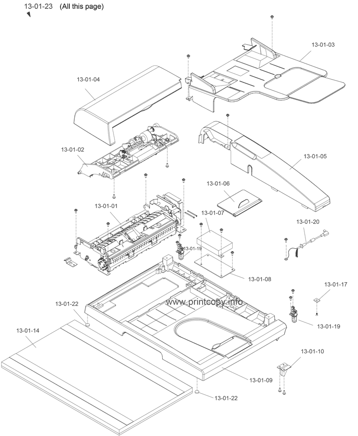 Parts Catalog > Epson > Aculaser CX21NF > page 2