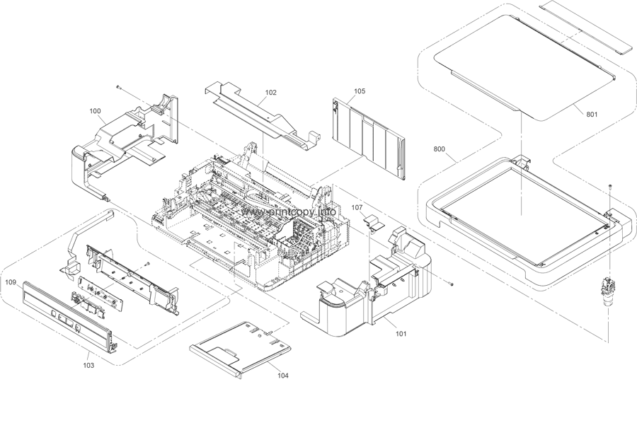 Parts Catalog > Epson > L210 > page 1