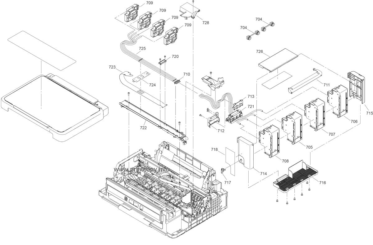 Parts Catalog > Epson > L210 > page 4