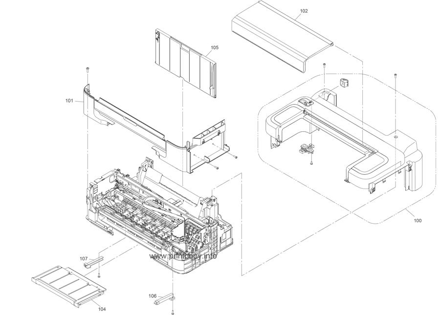 Parts Catalog > Epson > L300 > page 1