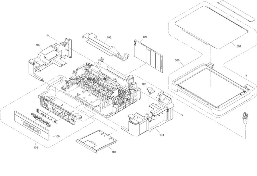 Parts Catalog > Epson > L355 > page 1