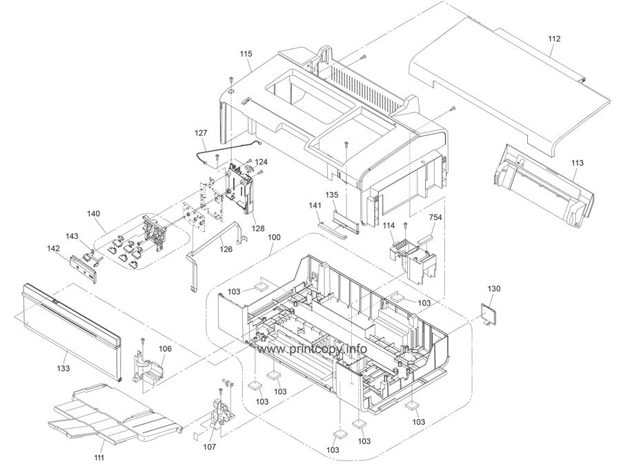 Parts Catalog > Epson > L800 > page 1