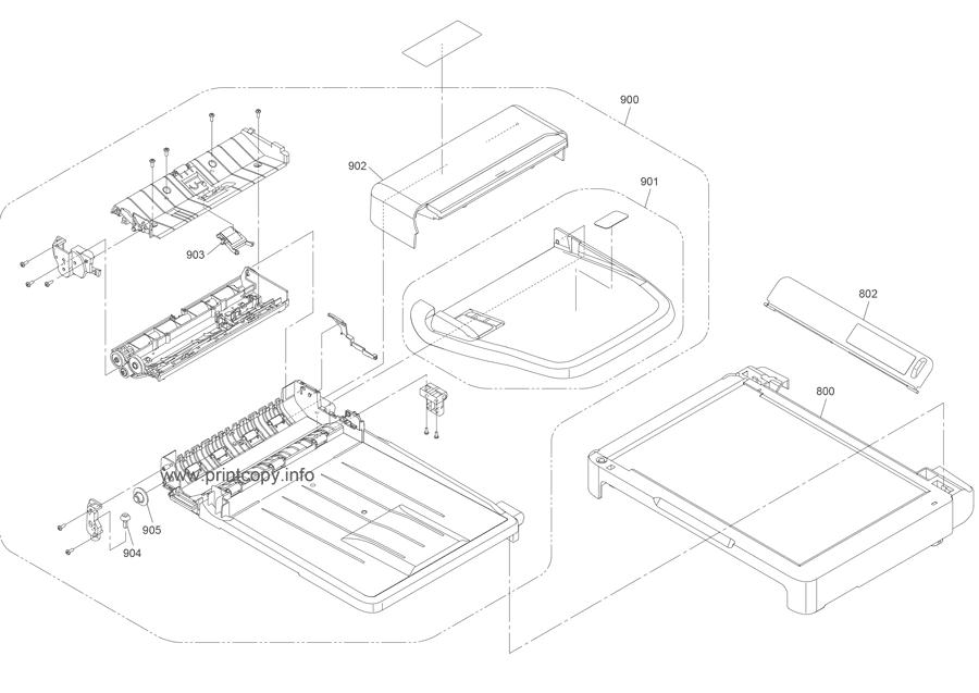 Parts Catalog > Epson > M200 > page 5